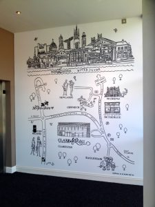 clark & sons wall map 2