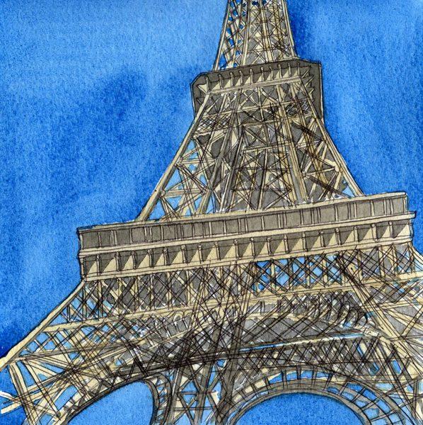 Under the Eiffel, Paris