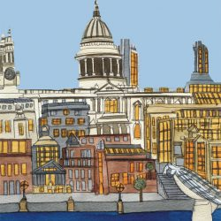 St Paul's from the Tate