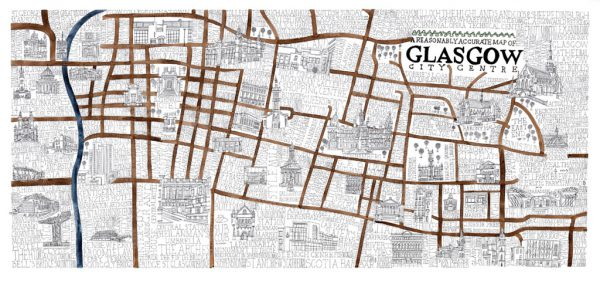 A Reasonably Accurate Map of Glasgow master jp wee wee wee