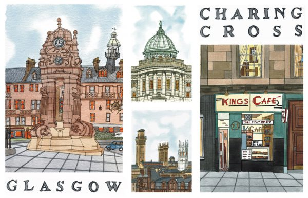 glasgow charing cross wee