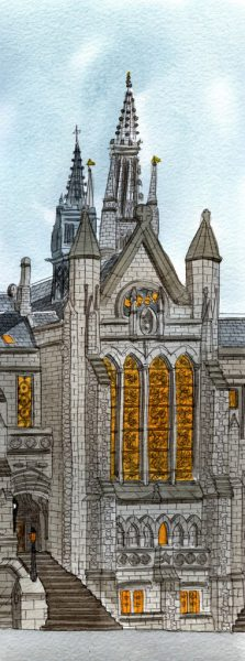 glasgow uni chapel wee