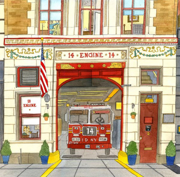 ladder 14 wee 24x24 inches _400