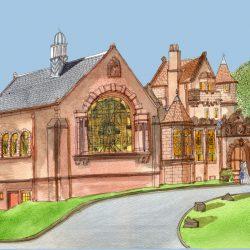 pollockshields burgh hall.jpg blue.jpg wee