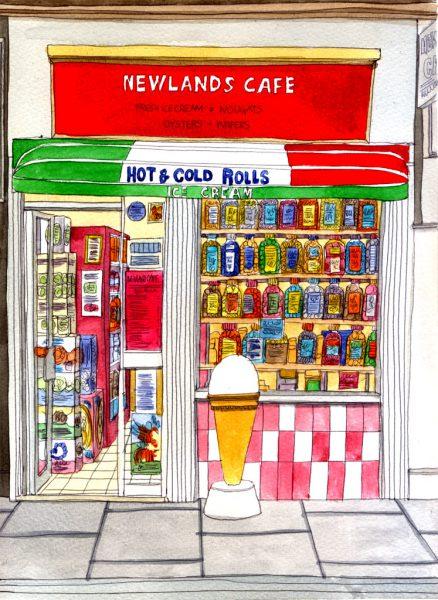 newlands cafe wee